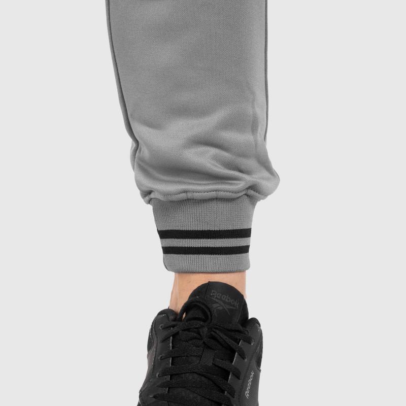Női fitness melegítő nadrág Iron Aesthetics Original, szürke-8