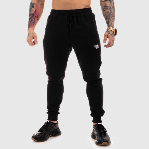 Férfi sportszett Iron Aesthetics Round, fekete