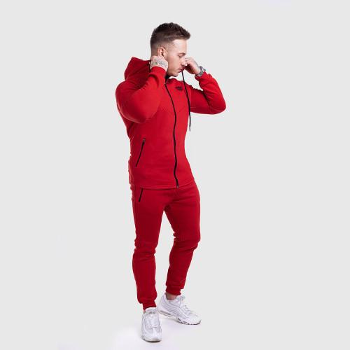 Férfi sportszett Iron Aesthetics Round, piros