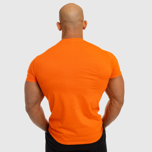Férfi fitness póló Iron Aesthetics Be Stronger, narancssárga