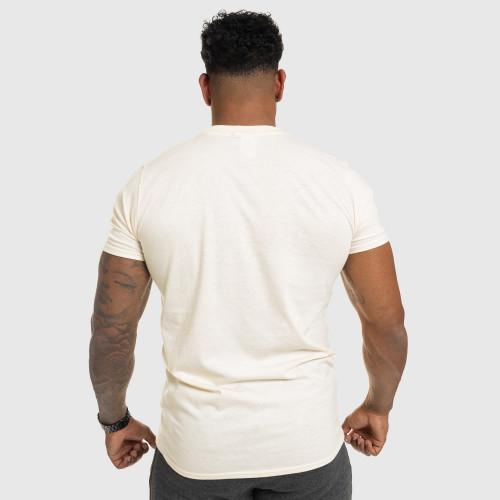 Férfi fitness póló IRON, bézs