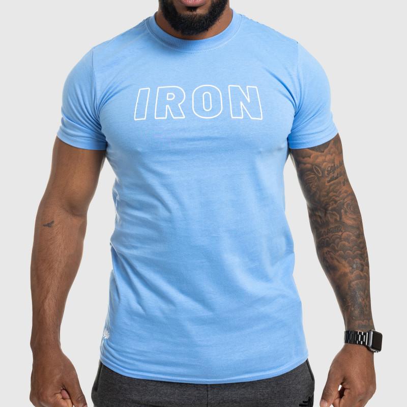 Férfi fitness póló IRON, kék-1