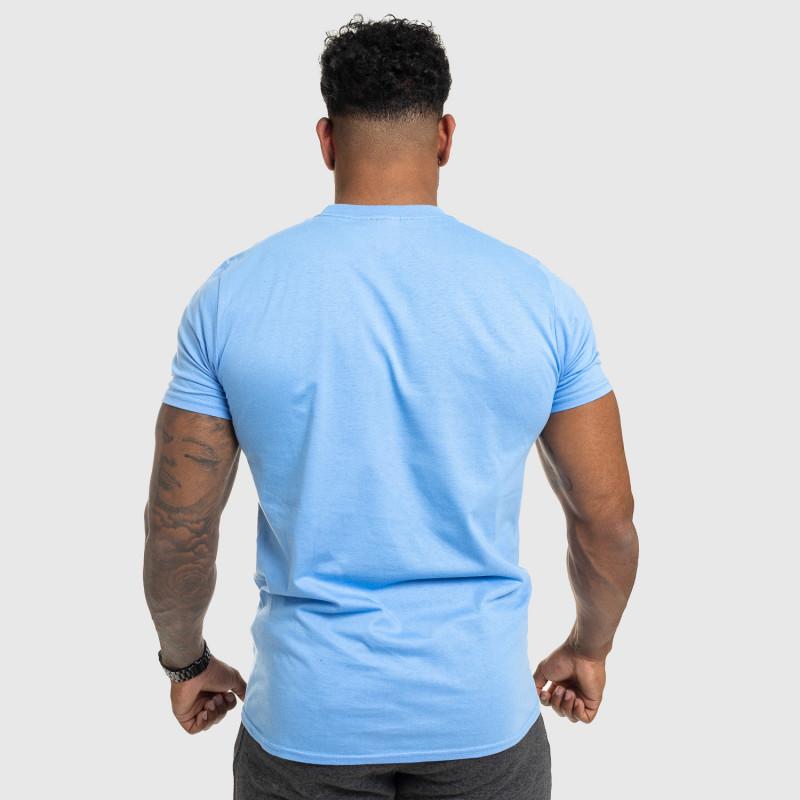 Férfi fitness póló IRON, kék-2