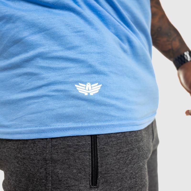 Férfi fitness póló IRON, kék-7