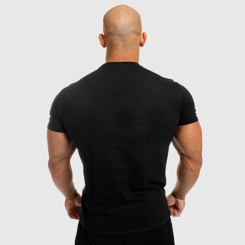 Férfi fitness póló Iron Aesthetics Standard, fekete