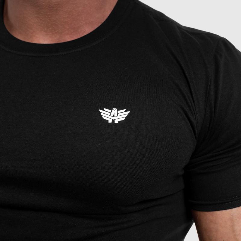 Férfi fitness póló Iron Aesthetics Standard, fekete-4
