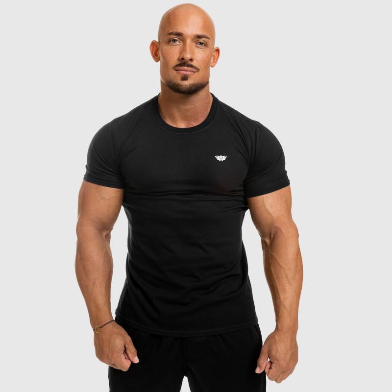 Férfi fitness póló Iron Aesthetics Standard, fekete-5