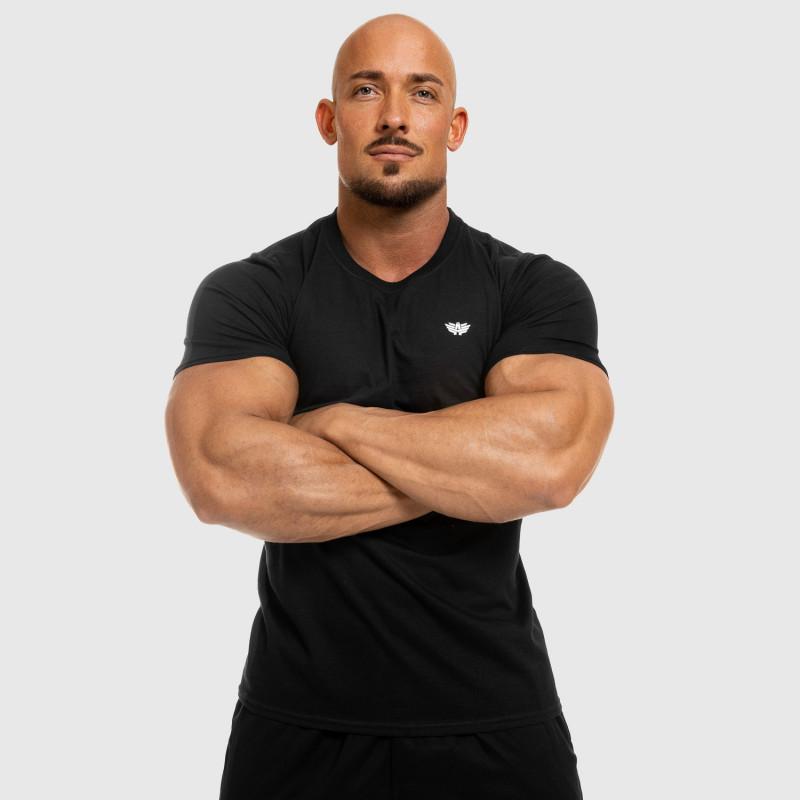 Férfi fitness póló Iron Aesthetics Standard, fekete-6