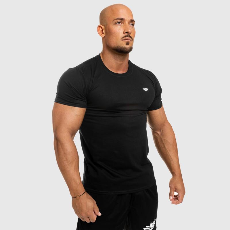 Férfi fitness póló Iron Aesthetics Standard, fekete-8