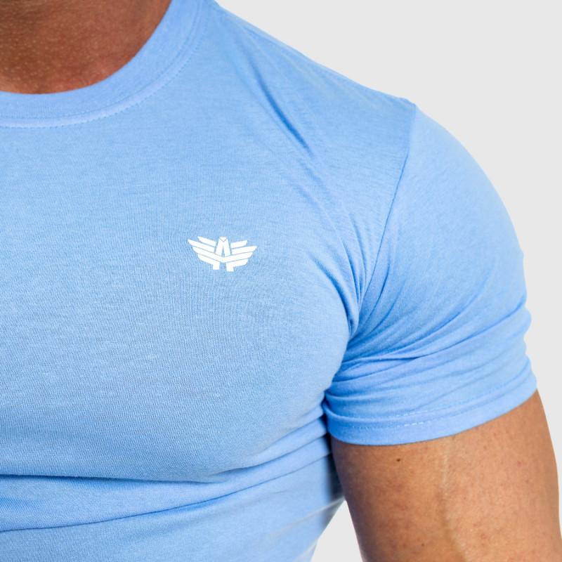 Férfi fitness póló Iron Aesthetics Standard, kék-3