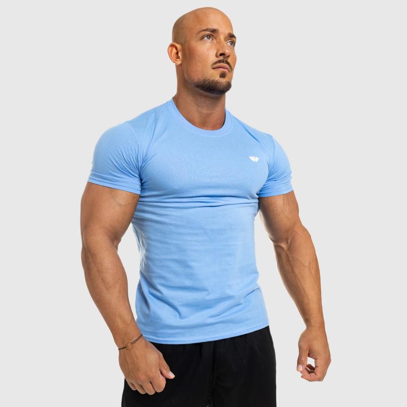 Férfi fitness póló Iron Aesthetics Standard, kék-4