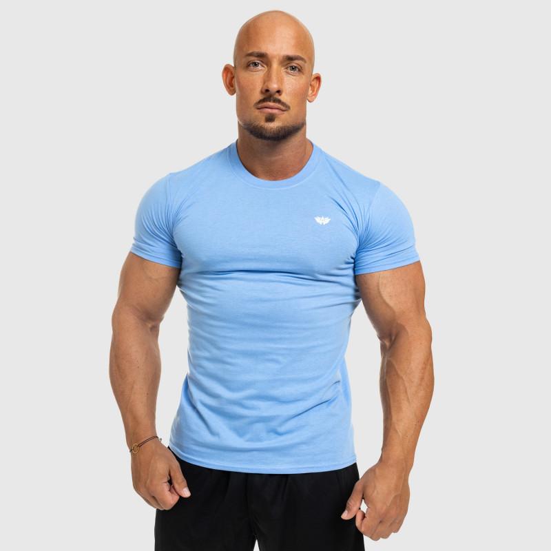Férfi fitness póló Iron Aesthetics Standard, kék-5