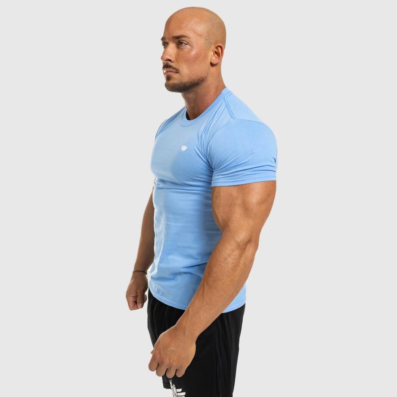 Férfi fitness póló Iron Aesthetics Standard, kék-7