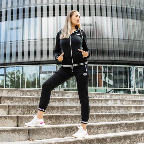 Női sportszett Iron Aesthetics Original, fekete