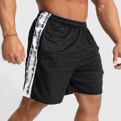 Funkciós rövidnadrág Iron Aesthetics Signature, fekete