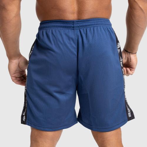 Funkciós rövidnadrág Iron Aesthetics Signature, kék