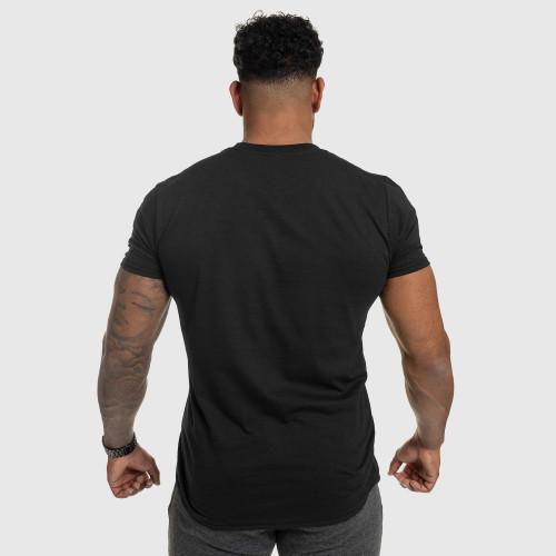 Férfi fitness póló IRON, fekete