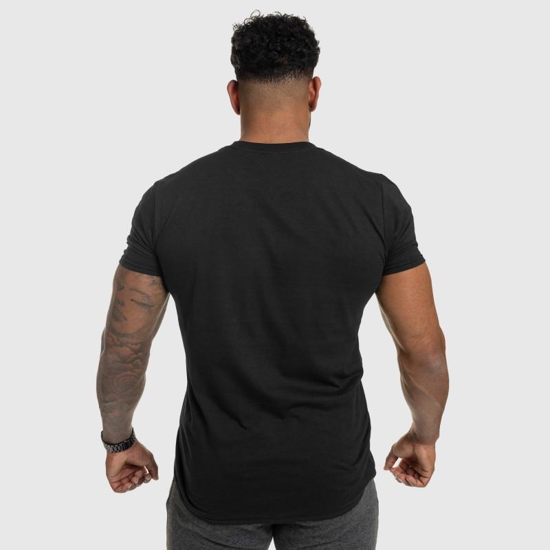 Férfi fitness póló IRON, fekete-2