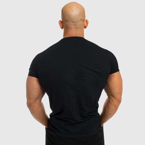 Férfi fitness póló Iron Aesthetics Be Stronger, fekete