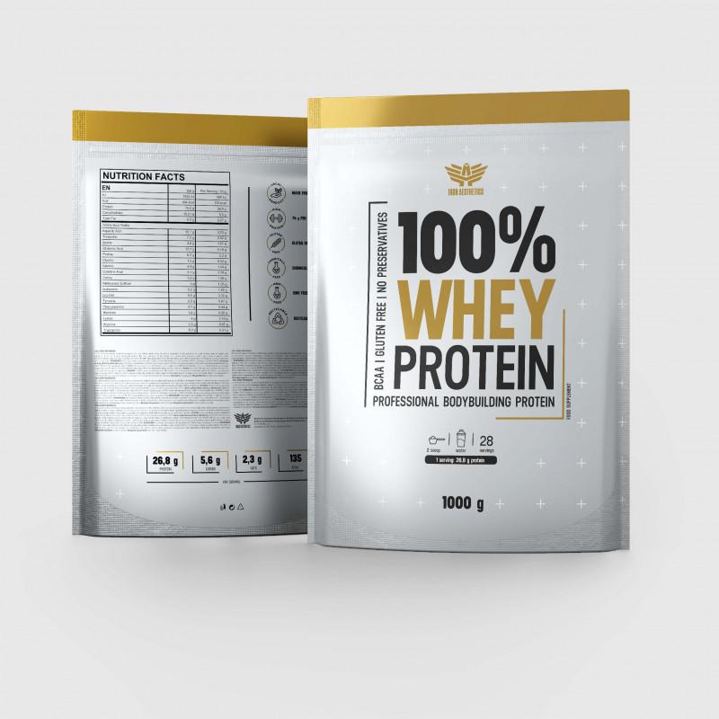 100% Whey protein 1000 g - Iron Aesthetics-2