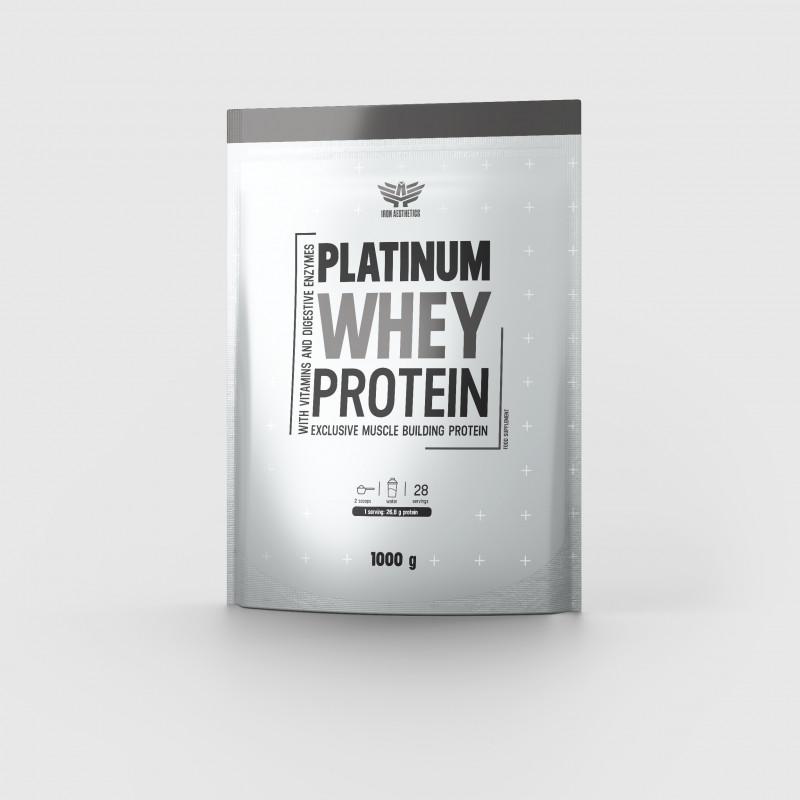 Platinum Whey Protein 1000g - Iron Aesthetics-1