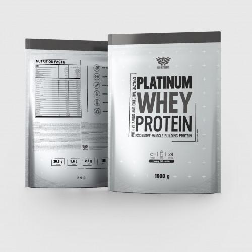 Platinum Whey Protein 1000g - Iron Aesthetics