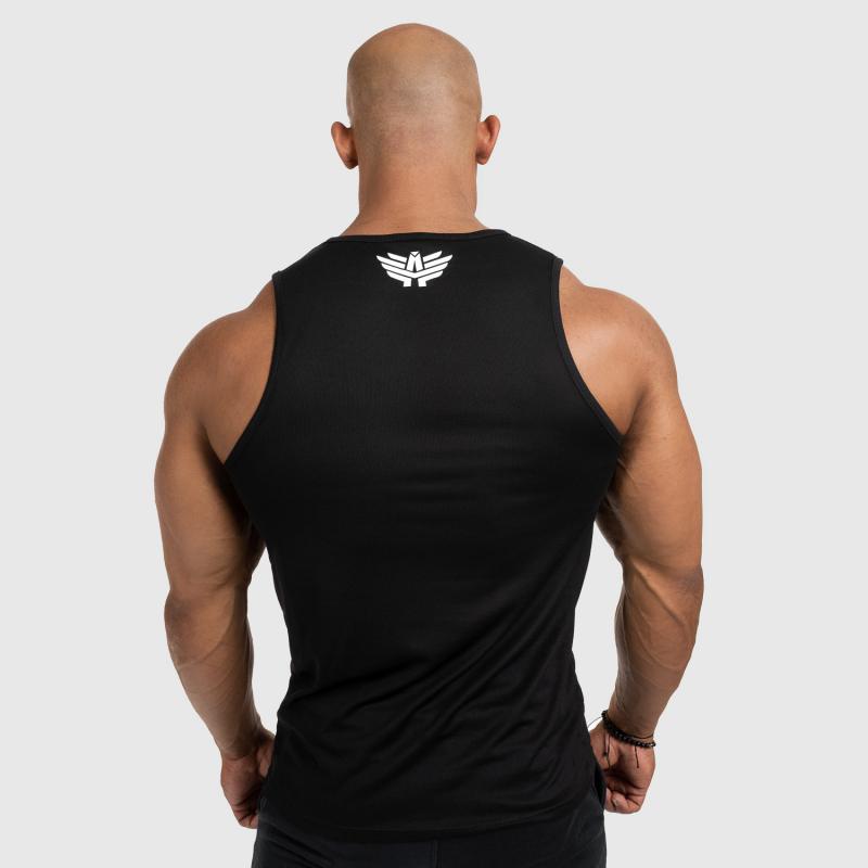 Férfi fitness ATLÉTA Iron Aesthetics Iron Man, fekete-2