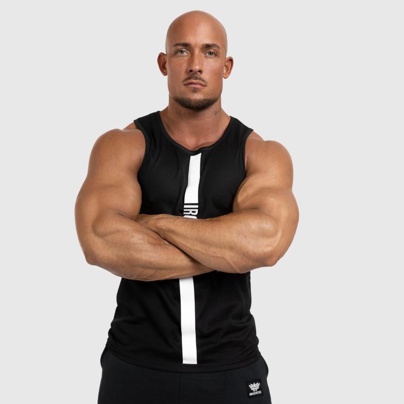 Férfi fitness ATLÉTA Iron Aesthetics Iron Man, fekete-4