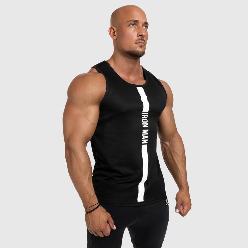 Férfi fitness ATLÉTA Iron Aesthetics Iron Man, fekete-5