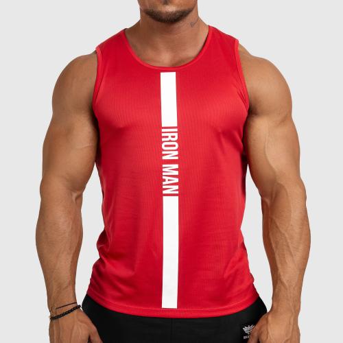 Férfi fitness ATLÉTA Iron Aesthetics Iron Man, piros