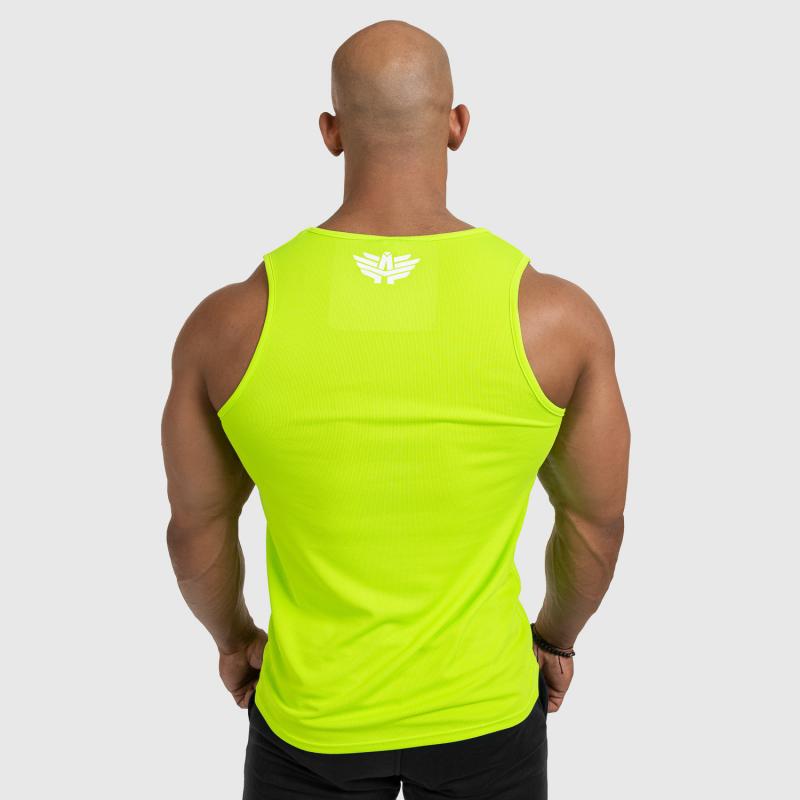 Férfi fitness ATLÉTA Iron Aesthetics Iron Man, Neon Green-2
