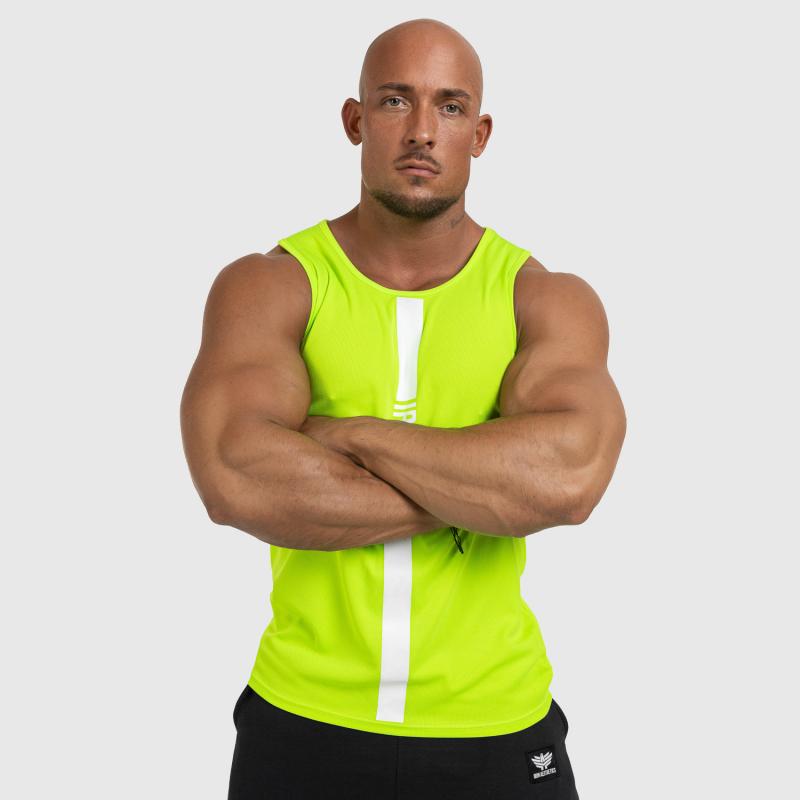 Férfi fitness ATLÉTA Iron Aesthetics Iron Man, Neon Green-4