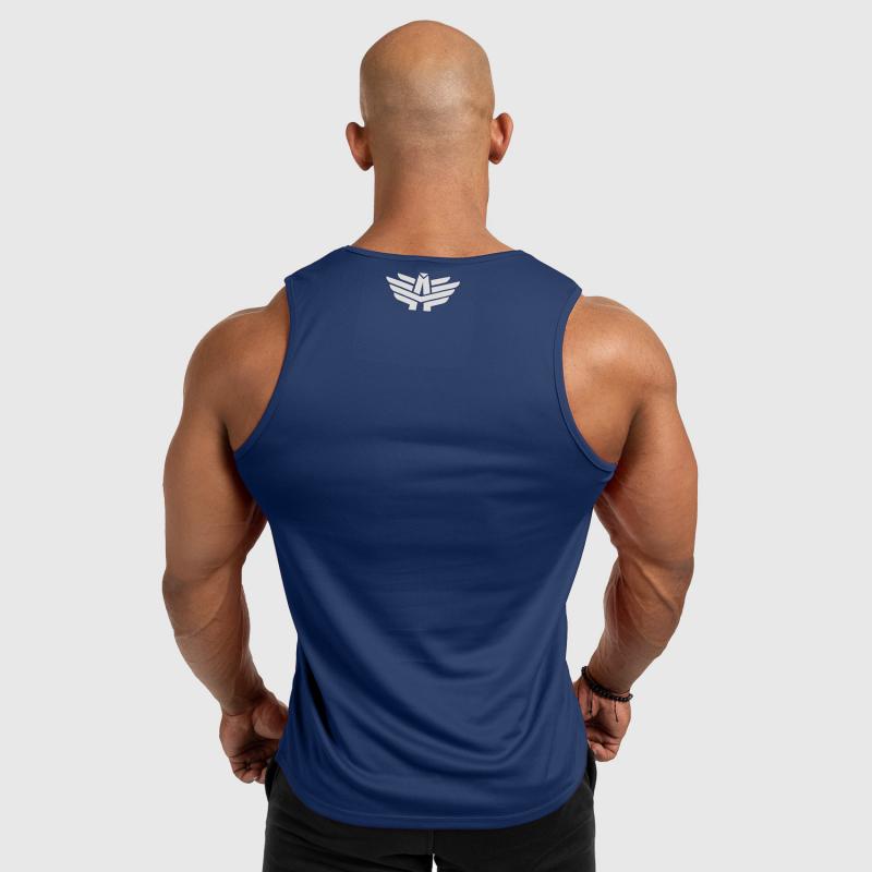 Férfi fitness ATLÉTA Iron Aesthetics Iron Man, navy-2