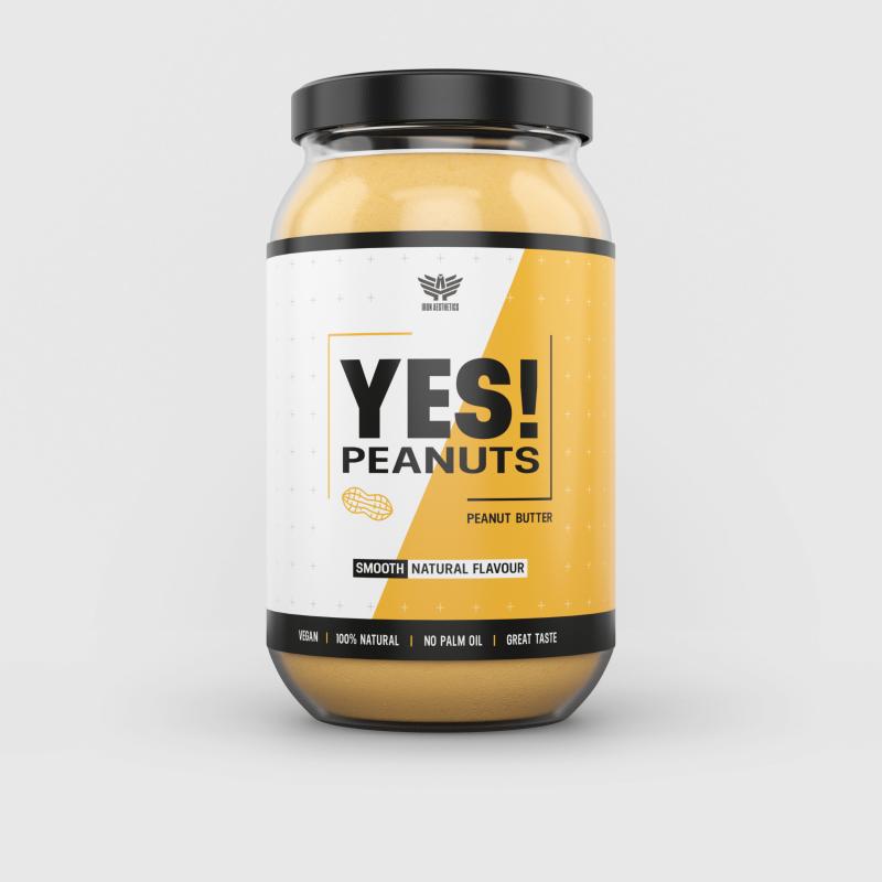YES! Peanuts mogyoróvaj - Iron Aesthetics-1