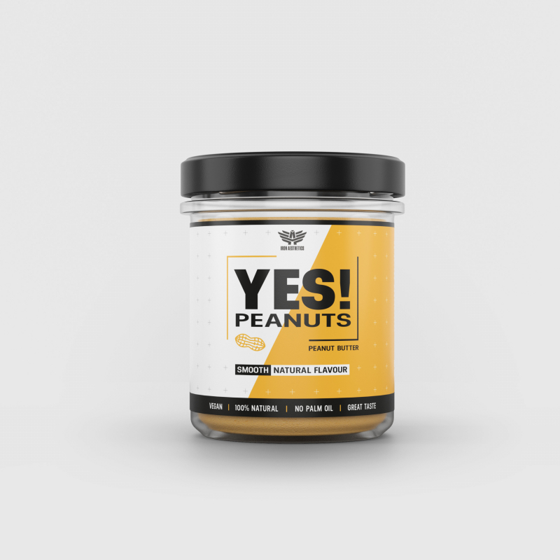 YES! Peanuts mogyoróvaj - Iron Aesthetics-2