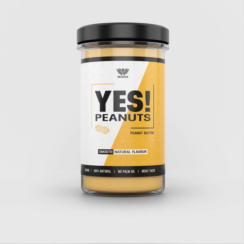 YES! Peanuts mogyoróvaj - Iron Aesthetics-3