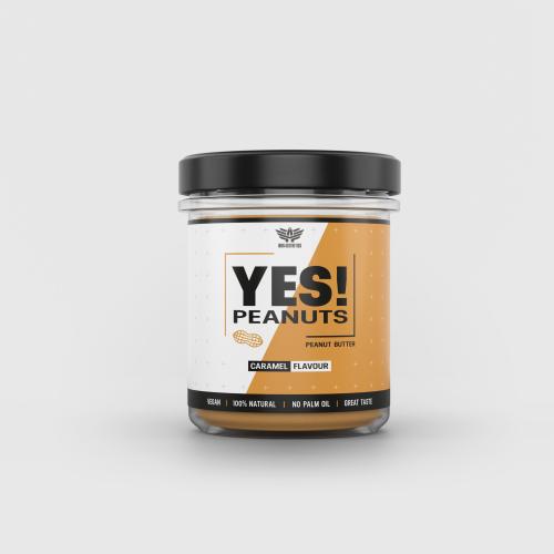 YES! Peanuts karamelles mogyoróvaj 340 g - Iron Aesthetics
