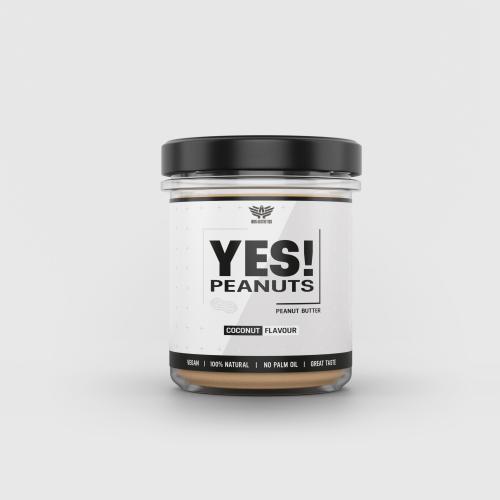 YES! Peanuts kókuszos mogyoróvaj 340 g - Iron Aesthetics