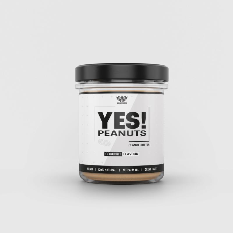 YES! Peanuts kókuszos mogyoróvaj 340 g - Iron Aesthetics-1