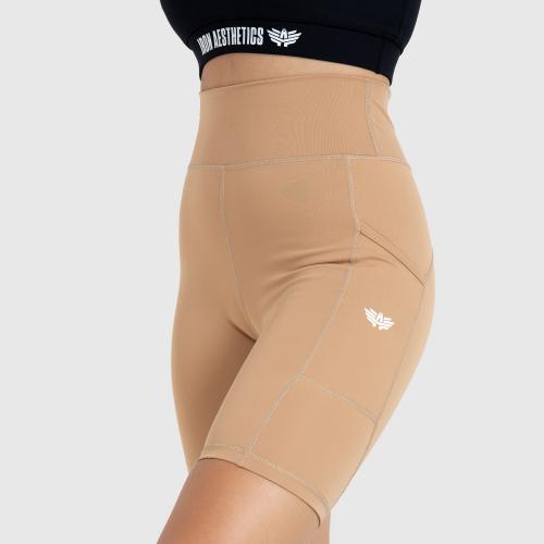 Női rövidnadrág Iron Aesthetics Pocket, bézs