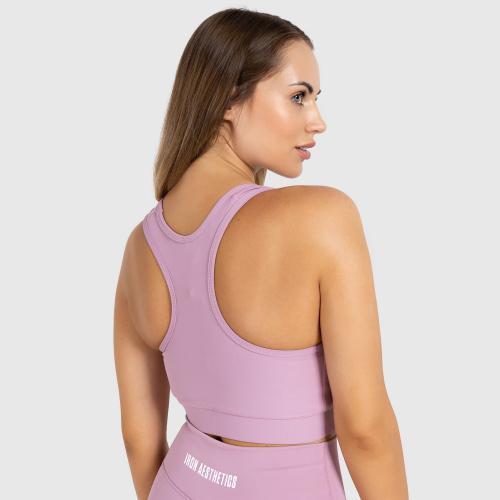 Női sportmelltartó STUFFED - Iron Aesthetics, lilac