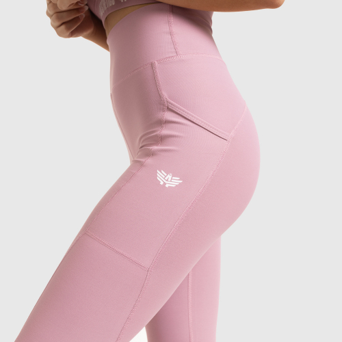 Női leggings POCKET- Iron Aesthetics, lilac